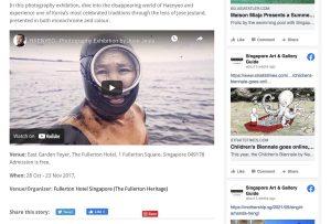 Singapore Art and Gallery Guide Haenyeo Women Divers Jose Jeuland 2