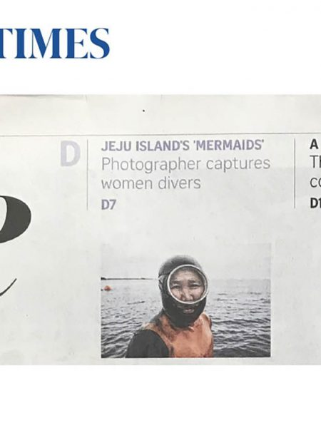 The Straits Times (print) Haenyeo Women Divers Jose Jeuland 1