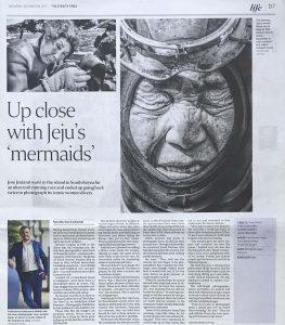 The Straits Times (print) Haenyeo Women Divers Jose Jeuland 2