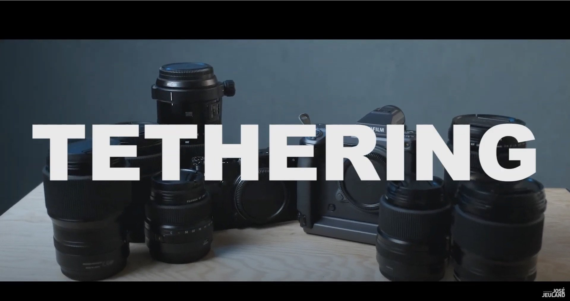 Tethering Shooting – Video