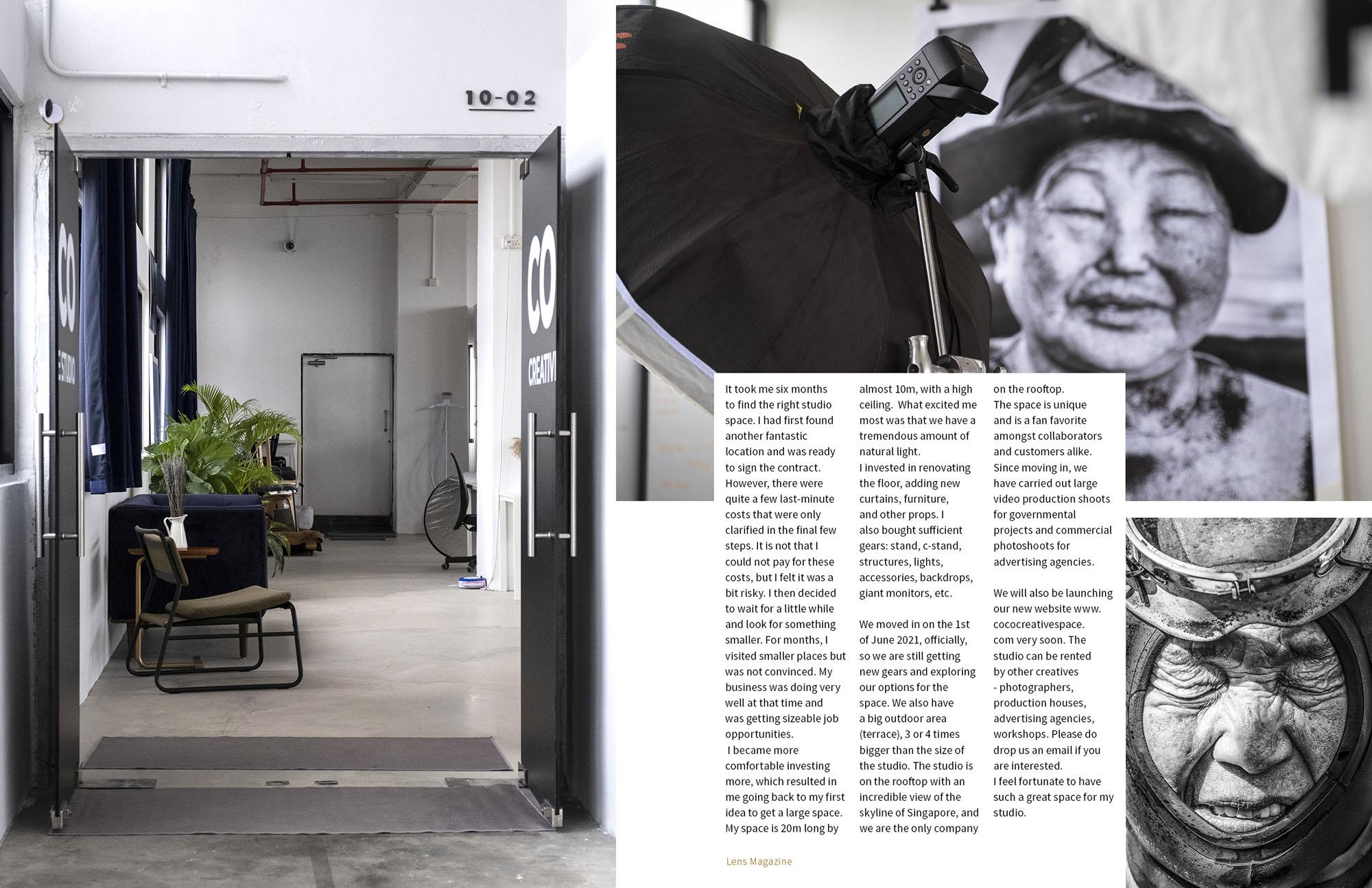 Lens Magazine Issue 83 COCO Creative Studio Photography Videography Services Singapore Jose Jeuland 4